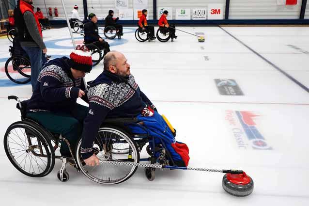 14. mezinárodní turnaj v curlingu vozíčkářů 2019