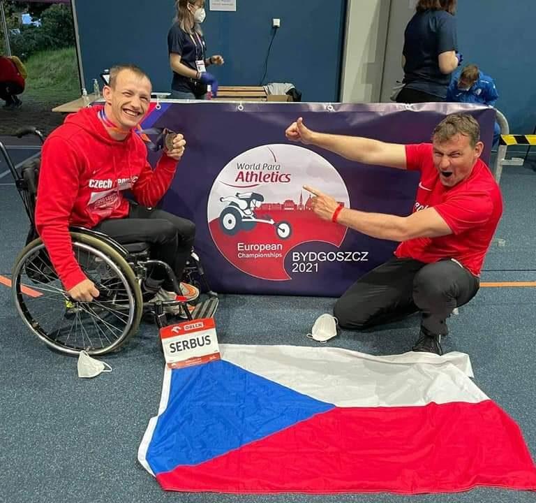 Mistrovství Evropy v para atletice 1.-5.6.2021 Bydhošt (Polsko)